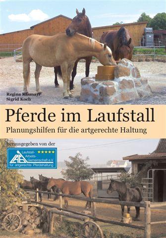Buchcover Pferde im Laufstall - Planungshilfen für die artgerechte Haltung